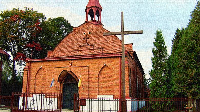 Kościół w Dąbrowie - Pawlikowicach